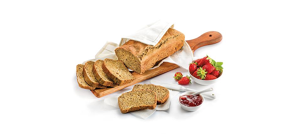 Kruh iz konopljine moke